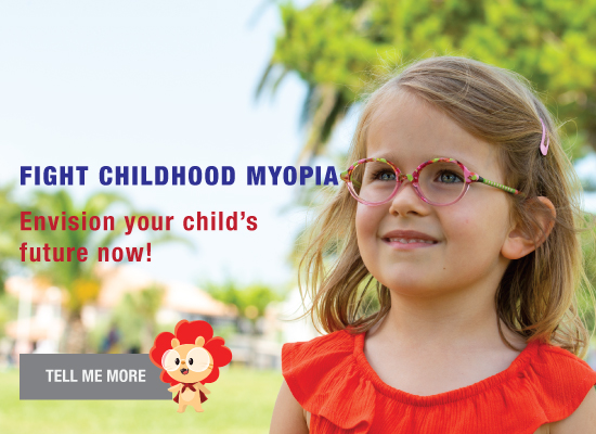 Control your child's myopia