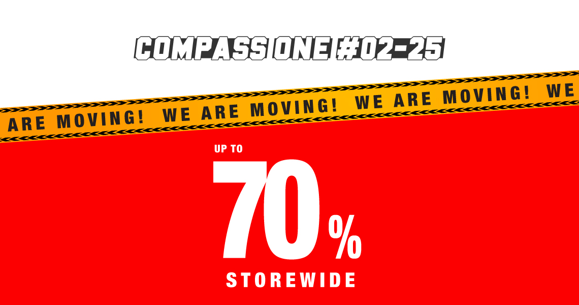 Compass One Moving Out SALE!
