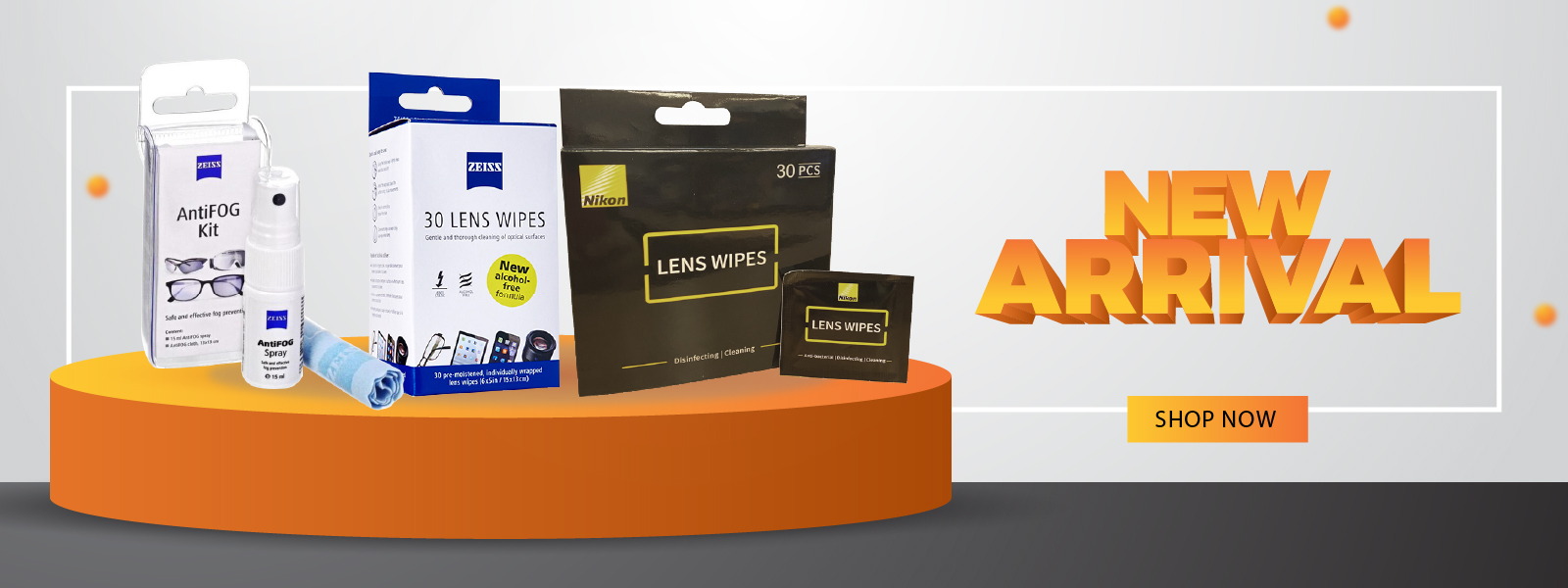 New arrival - lens care