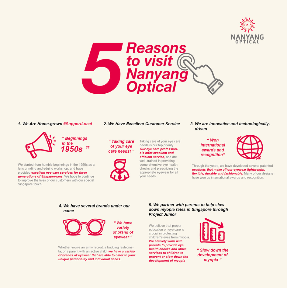 5 Reasons to Visit Nanyang Optical