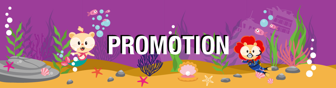 Stay tuned for our latest promotion